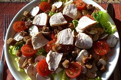Italienischer Salat mit Hähnchenbrust 3