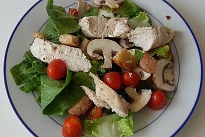 Italienischer Salat mit Hähnchenbrust 14