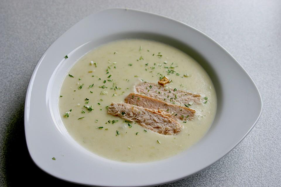 Käse - Lauch - Suppe mit Lachs von MReinart | Chefkoch
