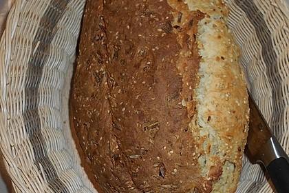 Dinkel - Sesam - Brot (Bild)