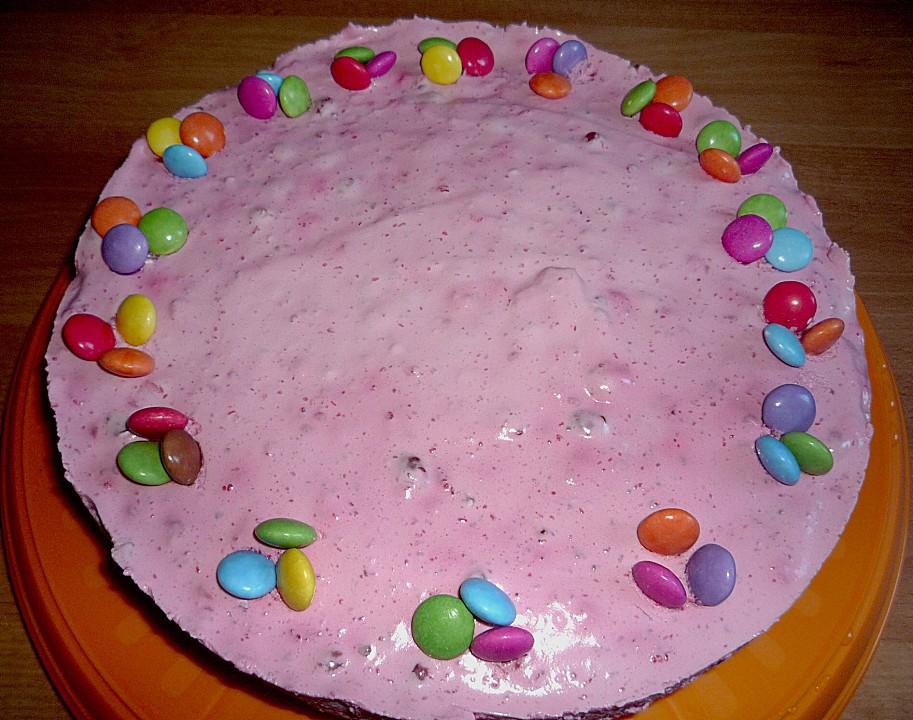 Smarties Frischkäse Torte Von Beawurm Chefkoch