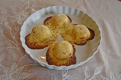 Überbackene Pfirsiche (Bild)