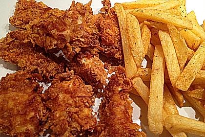 Knusprig - leichte Chicken Nuggets 20