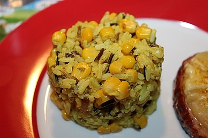 Reis mit Mais (Bild)