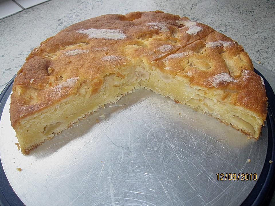 Apfel Ricotta Kuchen Ein Sehr Schones Rezept Chefkoch De