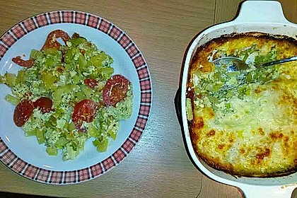 Kartoffelauflauf mit Mozzarella 1