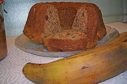 Walnuss - Bananen - Kuchen