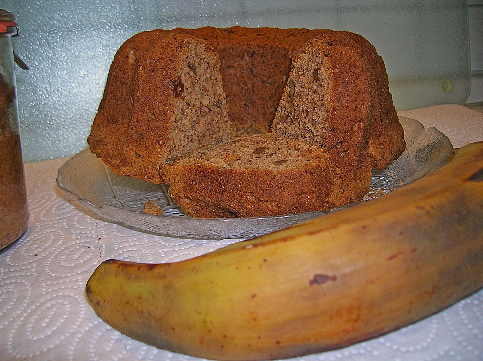 Walnuss Bananen Kuchen Von Mad207 Chefkoch De
