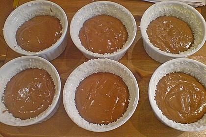 Schokoladentörtchen mit Kirschen 22