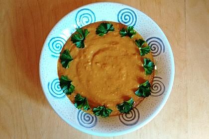 Orangen - Möhren - Suppe mit Ingwer, Curry und Vanille