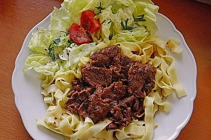 Majoranfleisch vom Rind