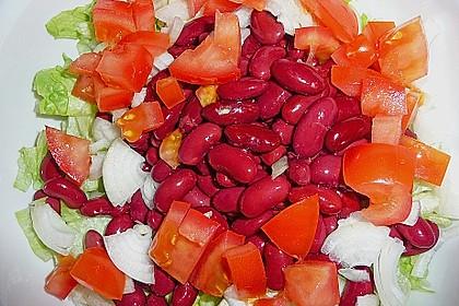 Kidneybohnensalat mit Feta 1