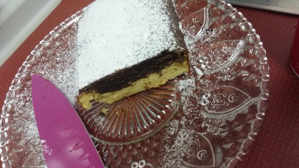 Quark Ruhrkuchen Fur Eine Kleine Kuchenform Von Sweet Crumb