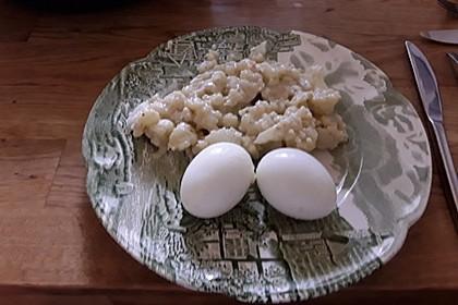 Karfiol mit Eier - Kräuter - Sauce 6