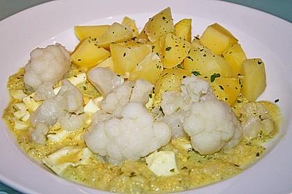 Karfiol mit Eier - Kräuter - Sauce 21