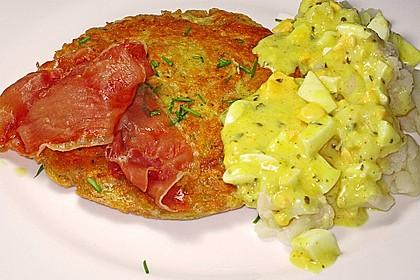 Karfiol mit Eier - Kräuter - Sauce 16