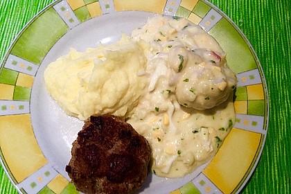 Karfiol mit Eier - Kräuter - Sauce 10