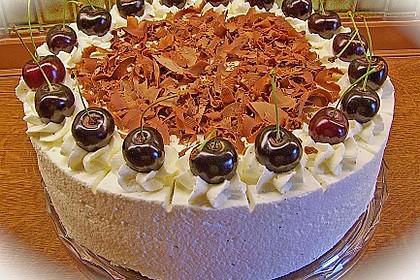 Kirsch - Schokosahne - Torte Schwarzwälder Art 3