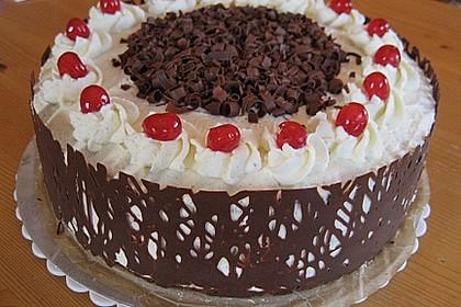 Kirsch - Schokosahne - Torte Schwarzwälder Art 1