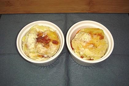 Kartoffel - Möhren - Gratin 4
