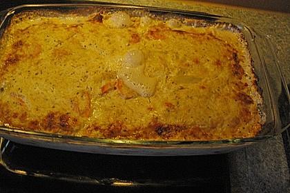 Kartoffel - Möhren - Gratin 3