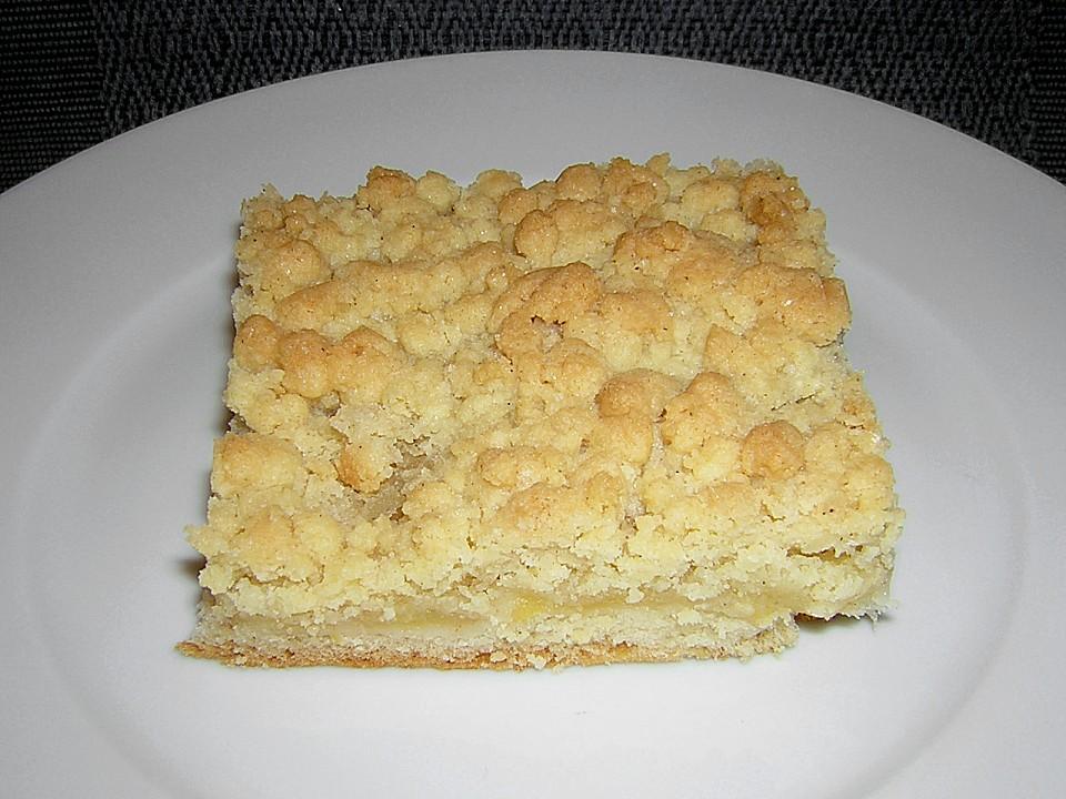 Apfel Streuselkuchen Mit Hermannteig Von Zwetschgennudel Chefkoch De
