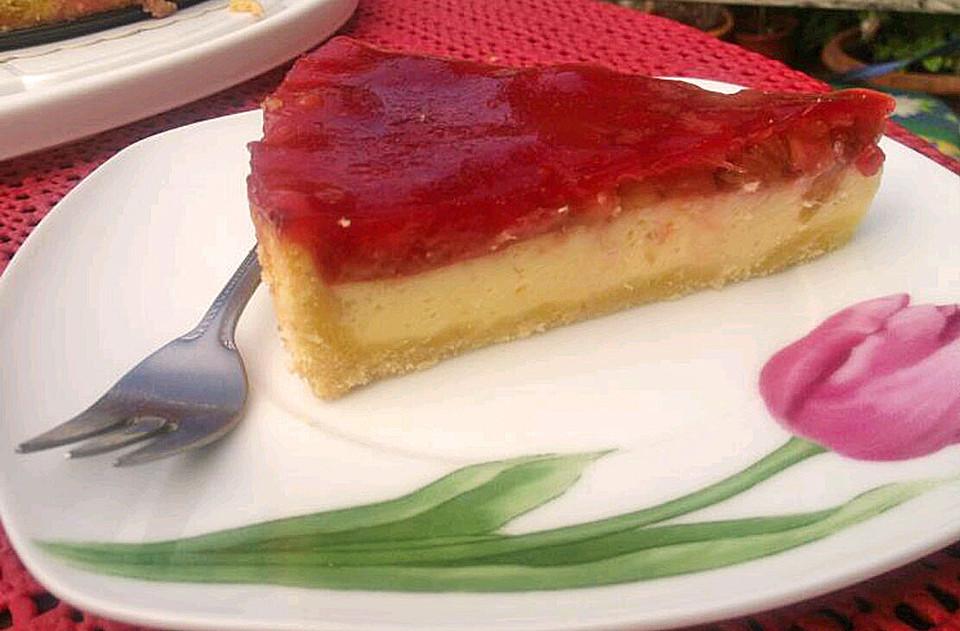 Rhabarber Schmand Kuchen