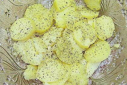 Kartoffelsalat mit Dörrfleisch und Gurke 18