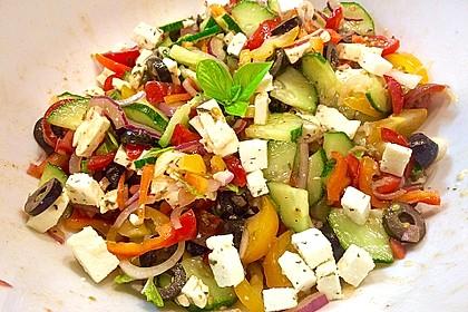 Salat, griechisch