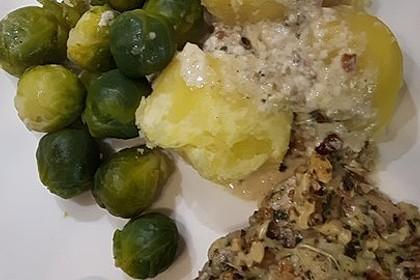 Filet vom Huhn mit Walnuss-Knoblauch-Kruste 33