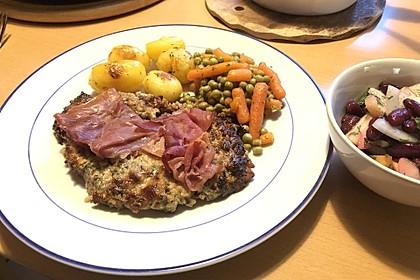 Filet vom Huhn mit Walnuss-Knoblauch-Kruste 6