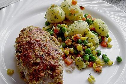 Filet vom Huhn mit Walnuss-Knoblauch-Kruste 3