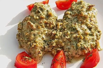 Filet vom Huhn mit Walnuss-Knoblauch-Kruste 17