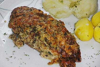Filet vom Huhn mit Walnuss-Knoblauch-Kruste 10