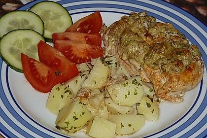 Filet vom Huhn mit Walnuss-Knoblauch-Kruste 24