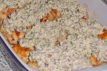 Filet vom Huhn mit Walnuss-Knoblauch-Kruste 60