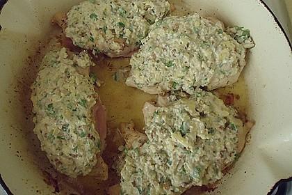 Filet vom Huhn mit Walnuss-Knoblauch-Kruste 46