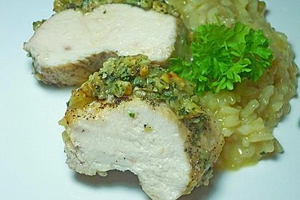 Filet vom Huhn mit Walnuss-Knoblauch-Kruste 25