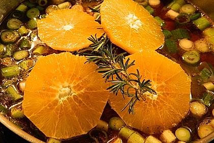Putenkeule in fruchtiger Sahnesauce 3