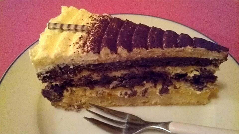 Meine Eierlikor Torte Von Chaclara Chefkoch De