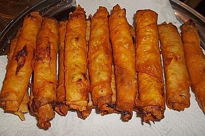 Zigarren - Börek mit Feta und Petersilie 3