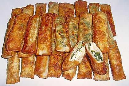 Zigarren - Börek mit Feta und Petersilie 1