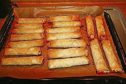 Zigarren - Börek mit Feta und Petersilie 2