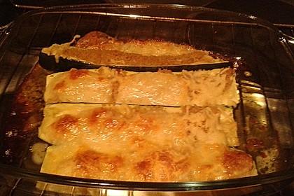 Mit Couscous gefüllte und überbackene Zucchini 29