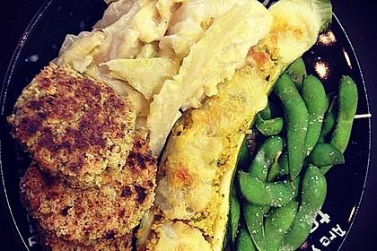 Mit Couscous gefüllte und überbackene Zucchini 17