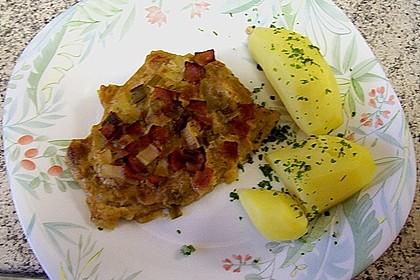 Lauch - Frischkäse - Schnitzel 23