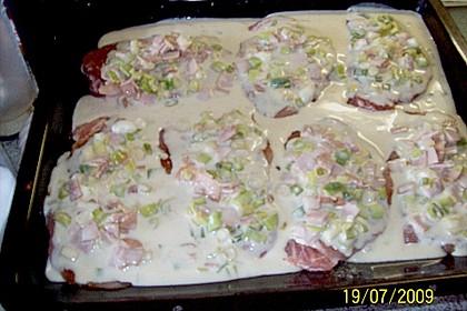 Lauch - Frischkäse - Schnitzel 30