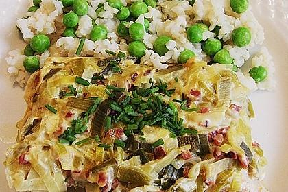 Lauch - Frischkäse - Schnitzel 6