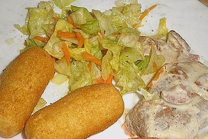 Lauch - Frischkäse - Schnitzel 11