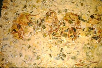 Lauch - Frischkäse - Schnitzel 27